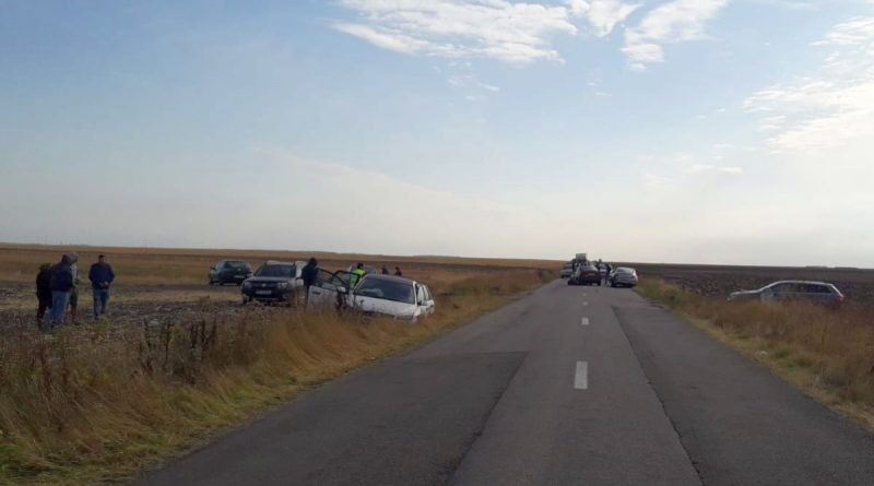Accident cu șapte răniți între Schitu și Șerbănești
