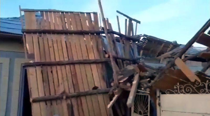 Explozie într-o locuință din Nicolae Titulescu