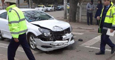Trei răniți în urma unui accident, la Caracal
