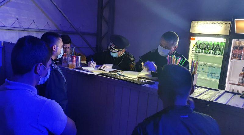 Eveniment privat cu aproximativ 50 de persoane, organizat la un restaurant din Slatina, întrerupt de polițiști