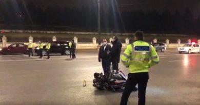 Polițist mort în accident de motocicletă, în fața Palatului Parlamentului. Avea 30 de ani și era originar din Caracal