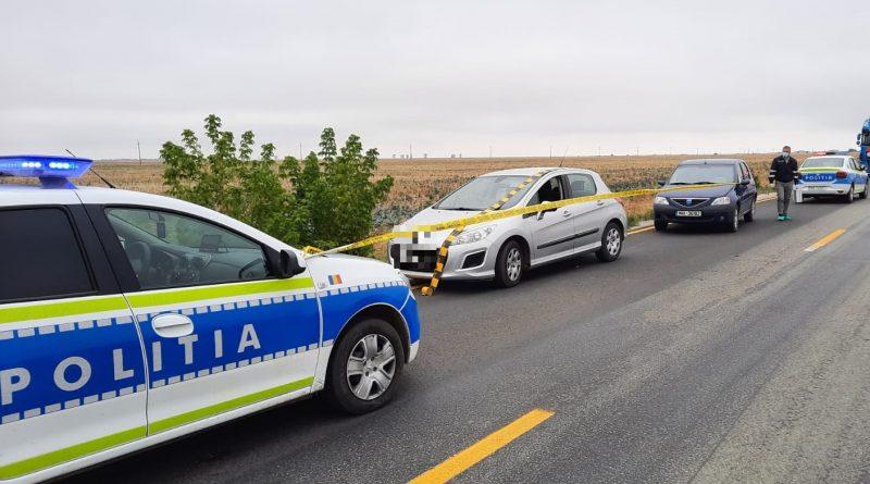 Femeie răpită de fostul concubin din zona Primăriei Dobrosloveni. A fost prins de polițiști pe DN 6 – E 70